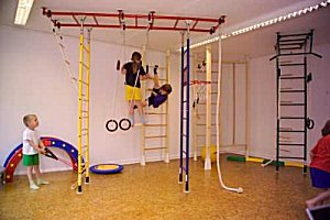 elementary physical education, kids, sport equipment